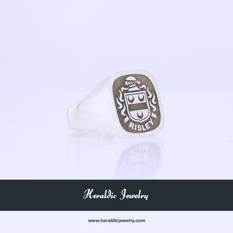 Risley family crest ring