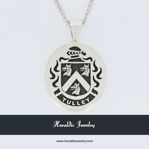 Tulley family crest pendant