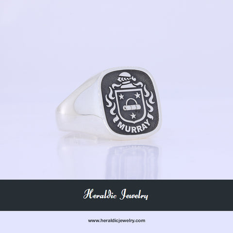 Murray family crest ring