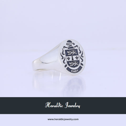 Cady family crest ring