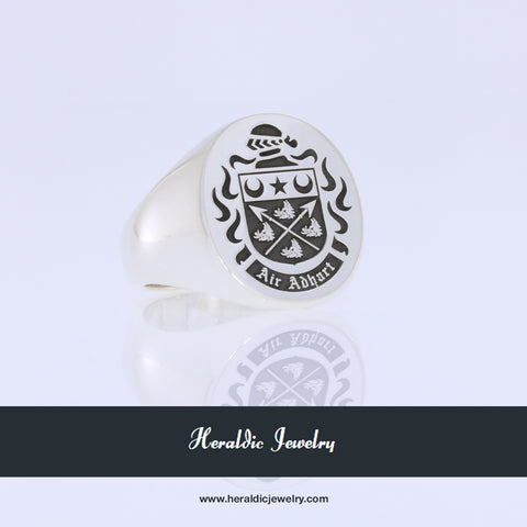 Spears coat of arms ring