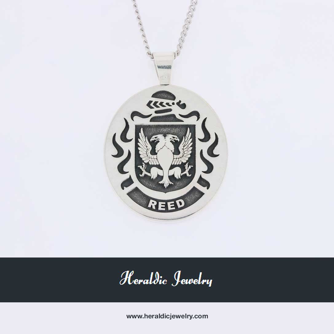 Reed family crest pendant