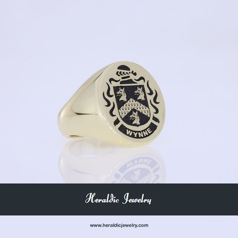 Wynne family crest ring