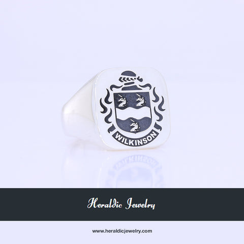 Wilkinson family crest ring