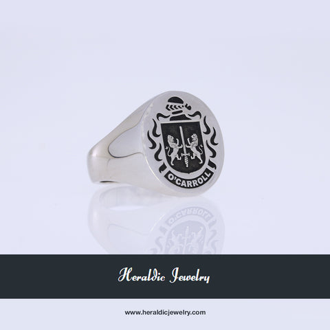 O'Carroll family crest ring