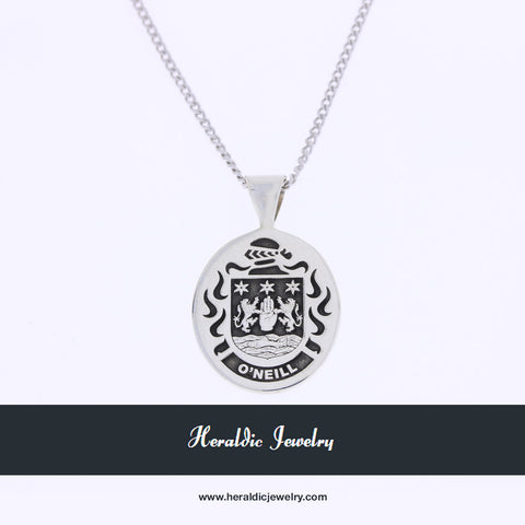 O'Neill family crest necklace