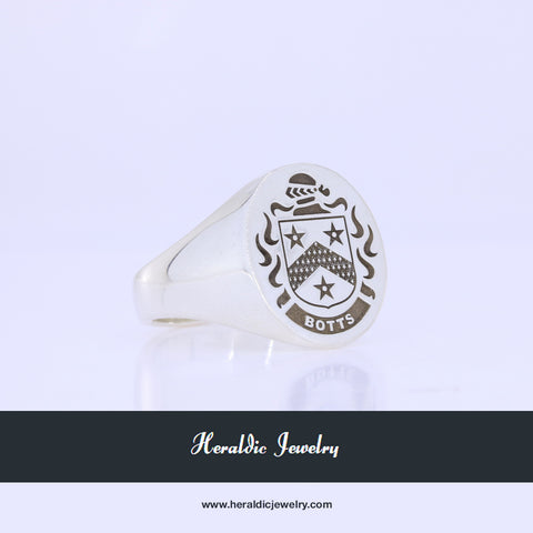 Botts family crest ring