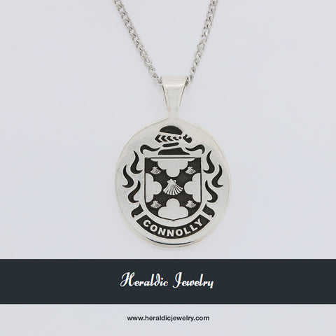 Connolly family crest pendant