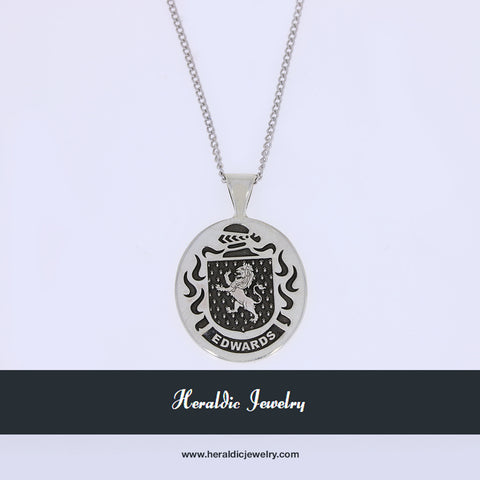 Edwards family crest pendant