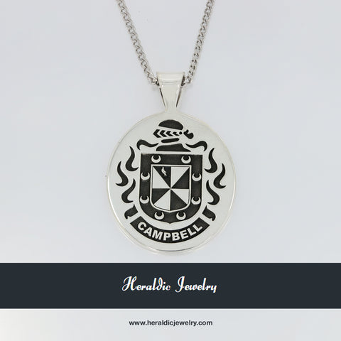 Campbell family crest pendant
