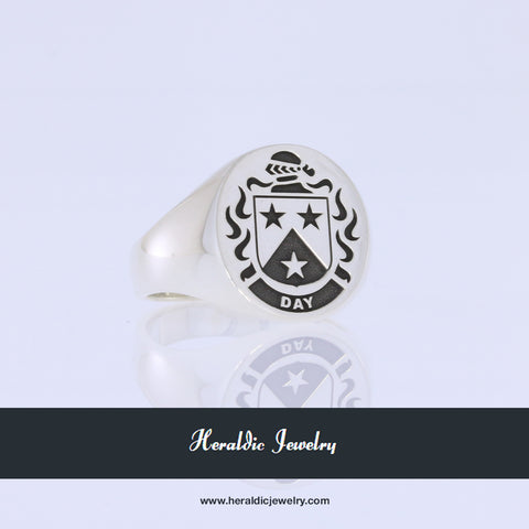 Day family crest ring