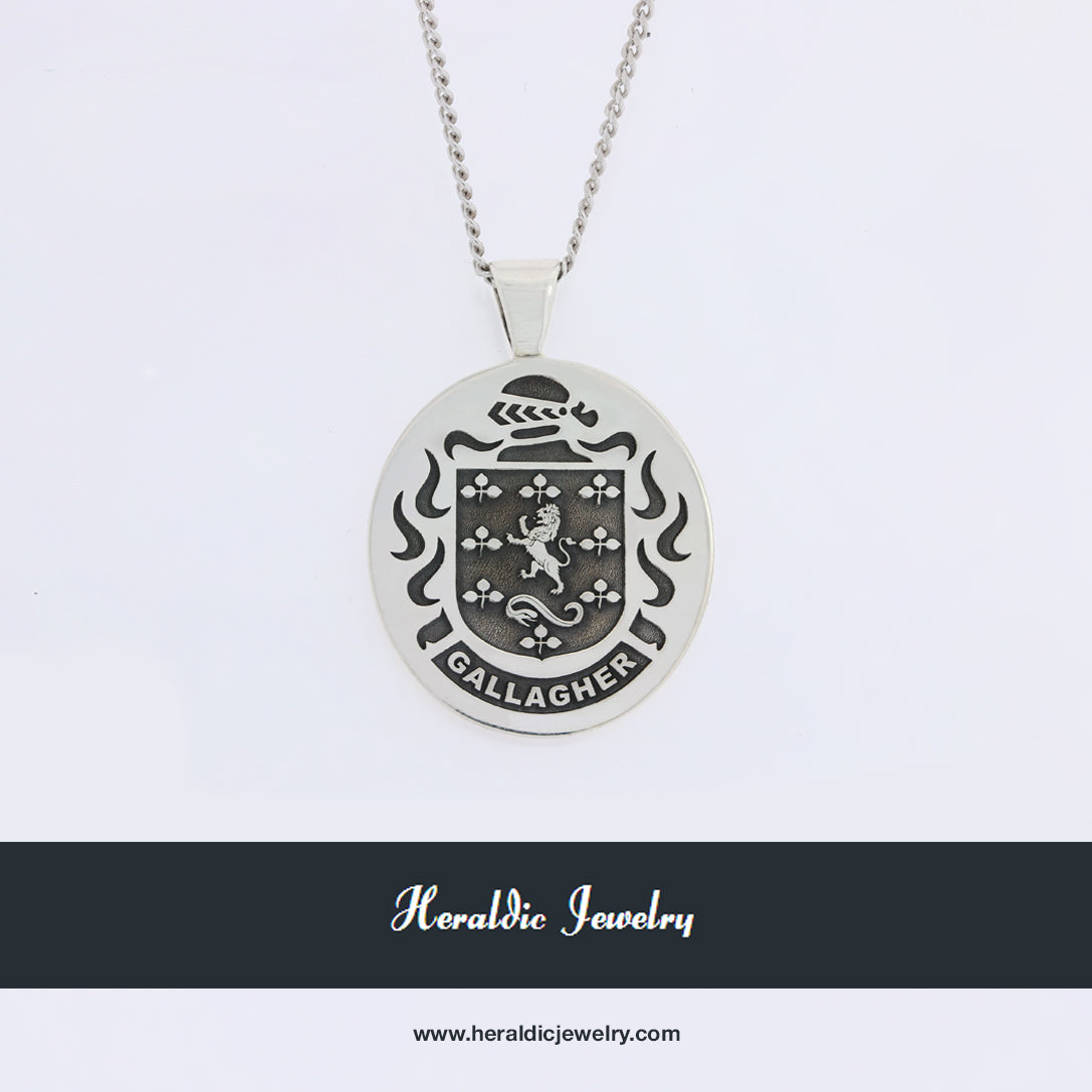 Gallagher family crest pendant
