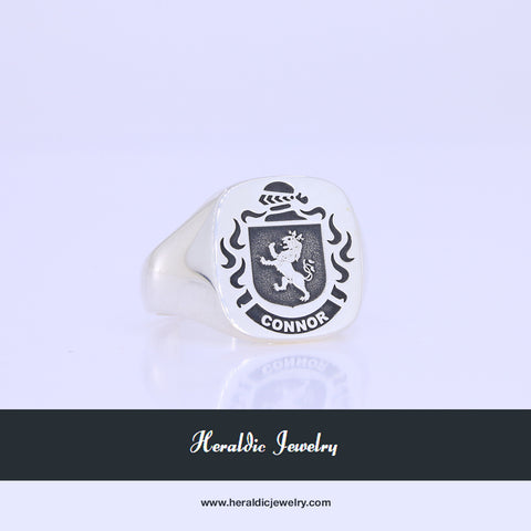 Connor family crest ring