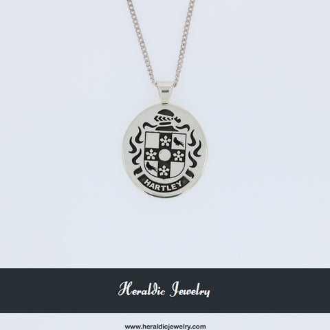 Hartley family crest pendant