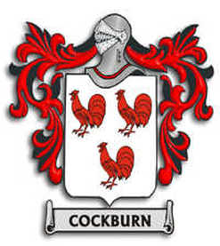 Cockburn Family Crest