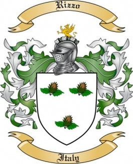 Rizzo Family Crest