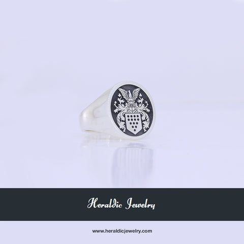Buelow family crest ring