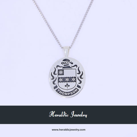 Thompson family crest pendant