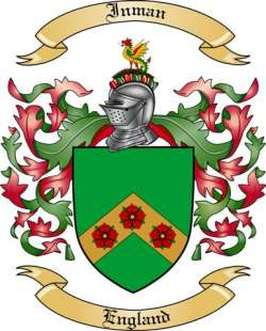 Inman Family Crest