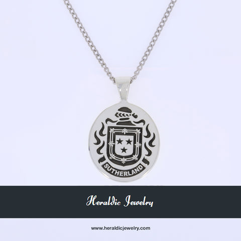 Sutherland family crest pendant