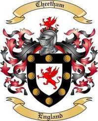 Cheetham Family Crest