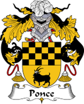Ponce Family Crest