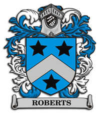 roberts family crest from England