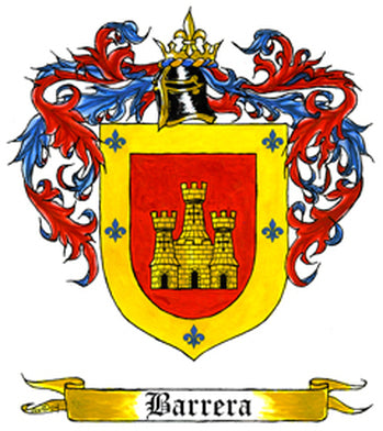 Barrera Family Crest