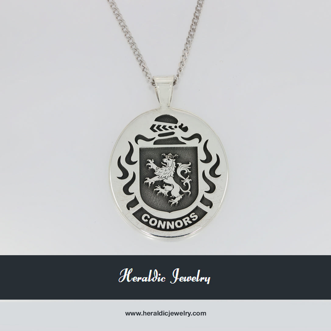 Connors family crest pendant