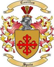 Casillas Family Crest