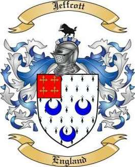 Jeffcott Family Crest