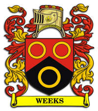 Weeks Family Crest