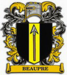 Beaupre Family Crest