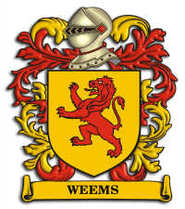 Weems Family Crest