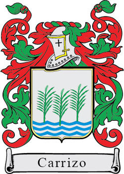 Carrizo Family Crest