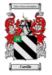 Carville Family Crest