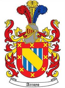 Arroyo Family Crest