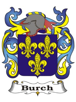 Burch Family Crest