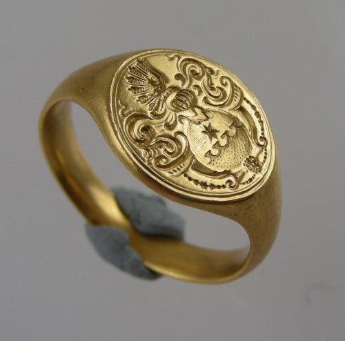 a family crest ring