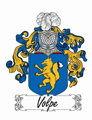 Volpe Family Crest