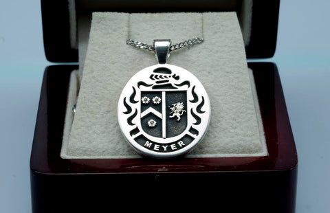 Meyer Family Crest Ring