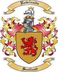 Rowlands Family Crest