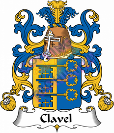 Clavell Family Crest