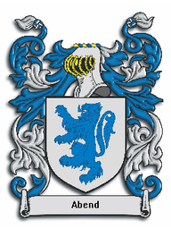 Abend Family Crest