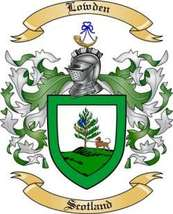 Lowden Family Crest