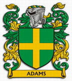 Adams Family Crest Scotland