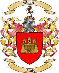 Morello Family Crest