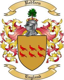 Redfern Family Crest