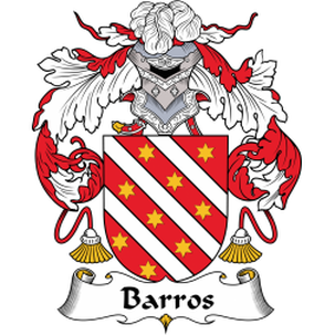 Barros Family Crest