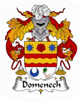 Domenech Family Crest